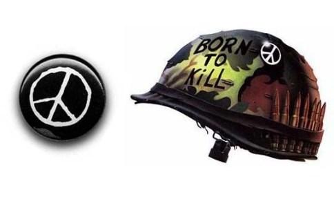 Born to Kill Peace Sign